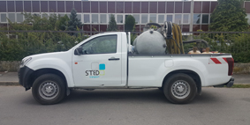 Pick-up-STED-Transport