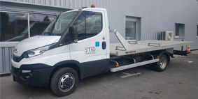 Camion-plateau-basculant-STED-Transport